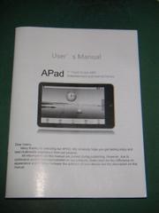 Apad_manual