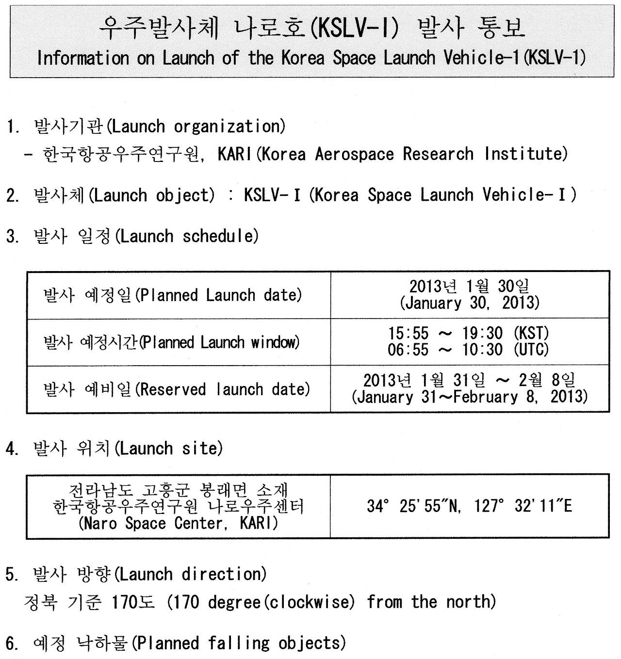 Information_on_launch_of_the_korea_