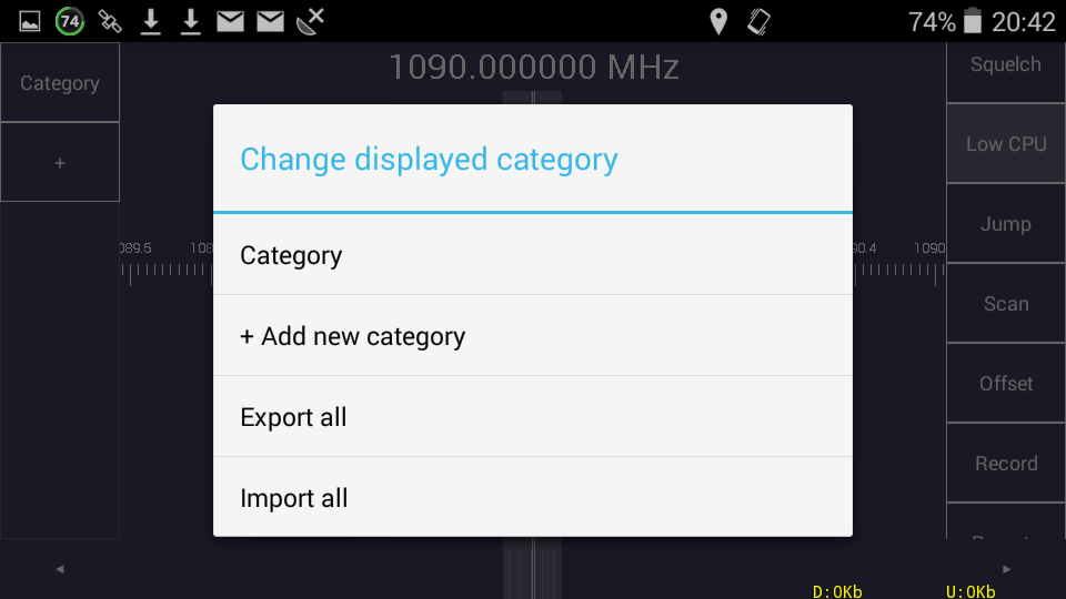 Sdr_touch_export_all_import_all